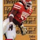 1996 Skybox Impact Football #171 Cedric Jones RC - New York Giants