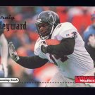 1996 Skybox Impact Football #008 Craig Heyward - Atlanta Falcons