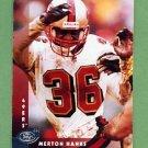 1997 Donruss Football #191 Merton Hanks - San Francisco 49ers