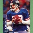1997 Donruss Football #187 Danny Kanell - New York Giants