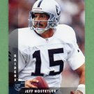 1997 Donruss Football #178 Jeff Hostetler - Oakland Raiders