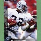 1997 Donruss Football #175 Harvey Williams - Oakland Raiders