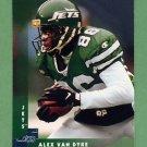 1997 Donruss Football #101 Alex Van Dyke - New York Jets