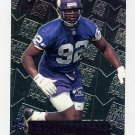 1996 Metal Football #126 Duane Clemons RC - Minnesota Vikings