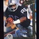 1991 Action Packed Football #122 Mervyn Fernandez - Los Angeles Raiders