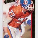 1992 Action Packed Football #066 Karl Mecklenburg - Denver Broncos