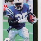 1992 Action Packed Rookie Update Football #29 Rodney Culver RC - Indianapolis Colts