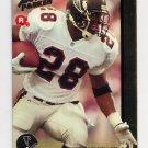 1992 Action Packed Rookie Update Football #20 Tony Smith RC - Atlanta Falcons