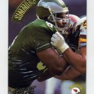 1994 Action Packed Football #088 Clyde Simmons - Philadelphia Eagles