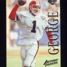 1995 Action Packed Football #074 Jeff George - Atlanta Falcons