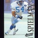 1995 Action Packed Football #044 Chris Spielman - Detroit Lions