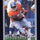 1993 Fleer Football #223 Shannon Sharpe - Denver Broncos