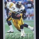 1993 Fleer Football #055 Barry Foster - Pittsburgh Steelers