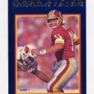 1992 Fleer Football Mark Rypien Bowled Over #7 - Washington Redskins
