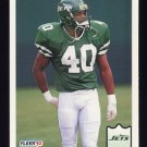 1992 Fleer Football #305 James Hasty - New York Jets