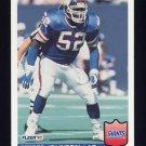 1992 Fleer Football #295 Pepper Johnson - New York Giants