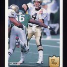 1992 Fleer Football #285 Steve Walsh - New Orleans Saints