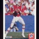 1992 Fleer Football #265 Hugh Millen - New England Patriots