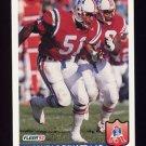 1992 Fleer Football #263 Eugene Lockhart - New England Patriots