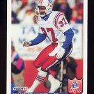 1992 Fleer Football #261 Maurice Hurst - New England Patriots