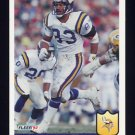 1992 Fleer Football #246 Steve Jordan - Minnesota Vikings