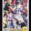 1992 Fleer Football #243 Chris Doleman - Minnesota Vikings