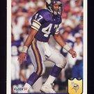1992 Fleer Football #240 Joey Browner - Minnesota Vikings