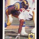 1992 Fleer Football #218 Jackie Slater - Los Angeles Rams