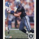 1992 Fleer Football #202 Don Mosebar - Los Angeles Raiders