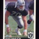 1992 Fleer Football #192 Scott Davis - Los Angeles Raiders