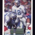 1992 Fleer Football #118 Erik Kramer - Detroit Lions