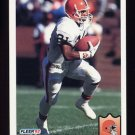 1992 Fleer Football #074 Eric Metcalf - Cleveland Browns