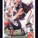 1992 Fleer Football #063 Mike Baab - Cleveland Browns