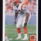 1992 Fleer Football #055 David Fulcher - Cincinnati Bengals