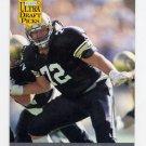 1991 Ultra Football #296 Mark Vander Poel RC - Indianapolis Colts
