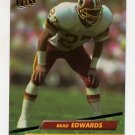 1992 Ultra Football #402 Brad Edwards - Washington Redskins