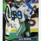 1992 Ultra Football #373 Brian Blades - Seattle Seahawks