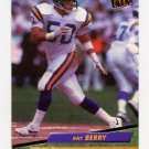 1992 Ultra Football #231 Ray Berry - Minnesota Vikings