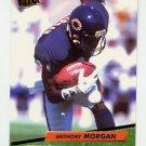 1992 Ultra Football #044 Anthony Morgan - Chicago Bears