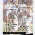 1993 Ultra Football #498 Checklist 255-382