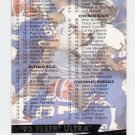 1993 Ultra Football #496 Checklist 1-126