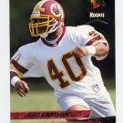 1993 Ultra Football #479 Reggie Brooks RC - Washington Redskins