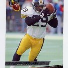 1993 Ultra Football #393 Barry Foster - Pittsburgh Steelers