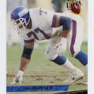 1993 Ultra Football #322 Eric Dorsey - New York Giants