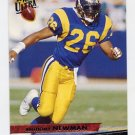 1993 Ultra Football #243 Anthony Newman - Los Angeles Rams