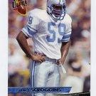 1993 Ultra Football #136 Tracy Scroggins - Detroit Lions