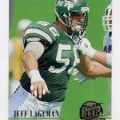 1994 Ultra Football #470 Jeff Lageman - New York Jets