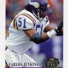 1994 Ultra Football #441 Carlos Jenkins - Minnesota Vikings