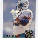 1994 Ultra Football #433 Tim Bowens - Miami Dolphins