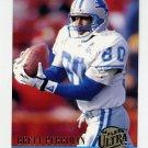 1994 Ultra Football #388 Brett Perriman - Detroit Lions